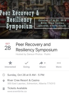 Peer support sympo