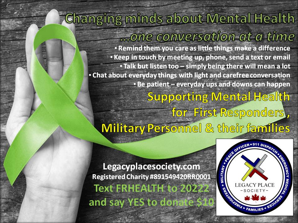 May Is Mental Health Awareness Month Support Legacy Place Society