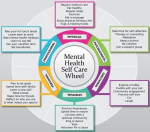 self care wheel 1