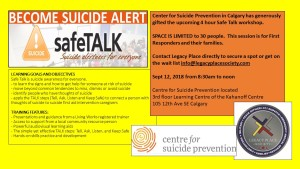 Safe talk Poster Sept 12 2018 YYC