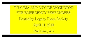 TRAUMA AND SUICIDE WORKSHOP FOR EMERGENCY RESPONDERS
