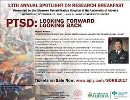 PTSD looking forward